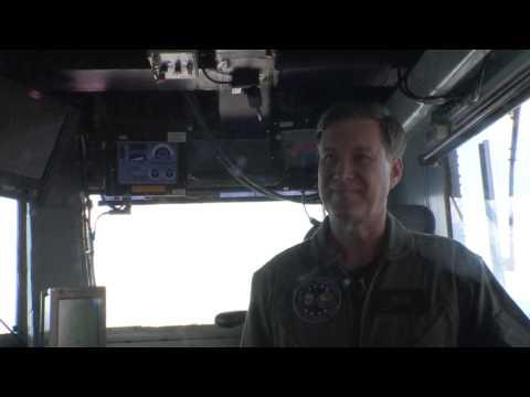 European DV Embark aboard USS George H.W Bush 141030-N-FF224-006