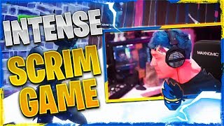 SUPER INTENSE SCRIM GAME! W/ REVERSE2K, NATE HILL & FAZE FUNK