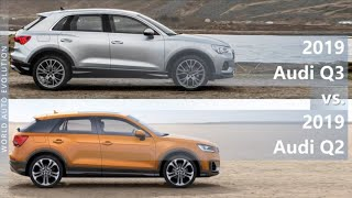 2019 Audi Q3 vs 2019 Audi Q2 (technical comparison)