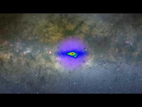 Fermi Galactic Center Zoom