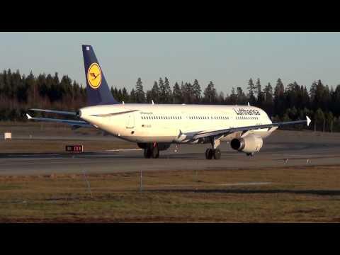 Airlines @OSL, Oslo Gardermoen Part 2, Lufthansa
