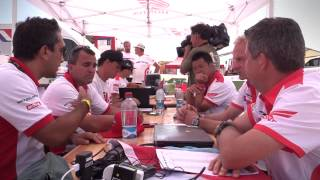 TeamHRC Dakar Rally 2015 Behind the Scene Rest day