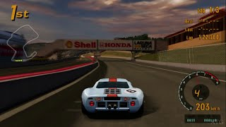 Gran Turismo 3 - Ford GT40 Race Car '69 HD PS2 Gameplay