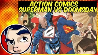 "Action Comics ""Superman VS Doomsday"" - DC Rebirth Complete Story"