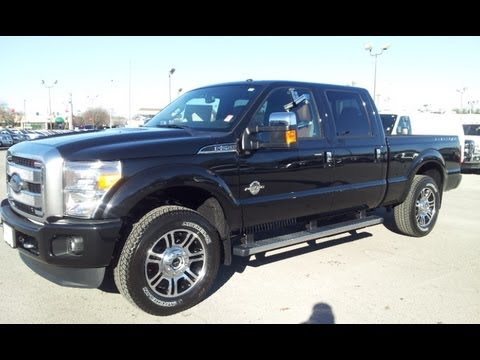 SOLD.2013 FORD F-250 SUPERDUTY PLATINUM CREWCAB 4X4 TUXEDO BLACK  FORD OF MURFREESBORO 888-439-1265