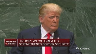 Trump: United States will not participate in global compact on migration