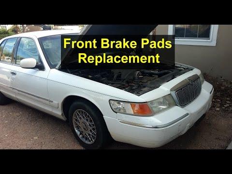 Mercury Grand Marquis Front Brake Pads Replacement - Auto Repair Series