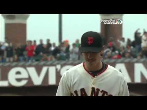 Tim Lincecum Second No Hitter All 27 Outs
