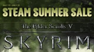 Steam Summer Sale - Skyrim (Win A Copy)