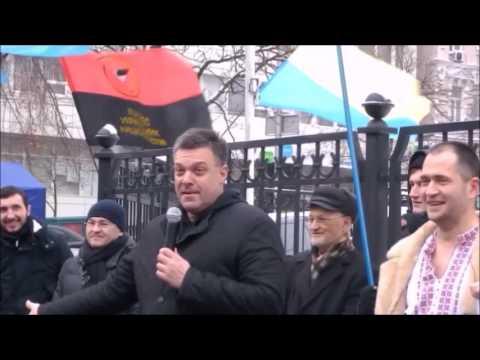 Тягнибок говорит по-русски / Тягнибок говорить російською