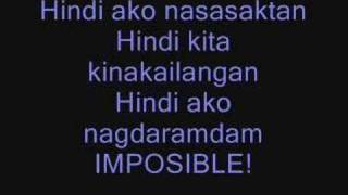 Watch Kc Concepcion Imposible video