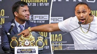 MANNY PACQUIAO vs. KEITH THURMAN FULL PRESS CONFERENCE | PBC ON FOX PAY-PER-VIEW