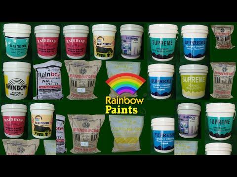 Rainbow Paints manufacturers of  quality paint products at peenya bengaluru bangalore india