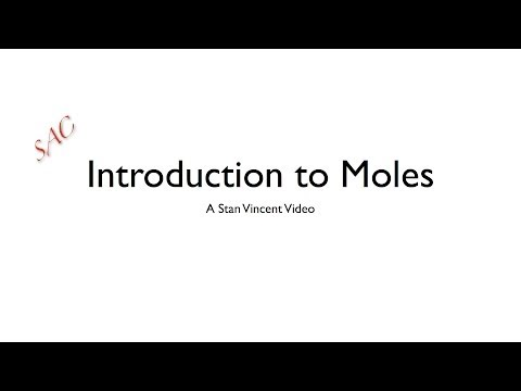 Introduction to Moles | Moles from Mass | Number | Volume | Avogadro's Number | Problems |