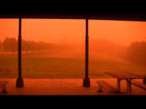 Dust Storm in Sydney, September 23, 2009