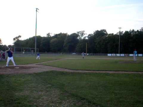 tyler putman pitching in van wert ohio 9/23/09