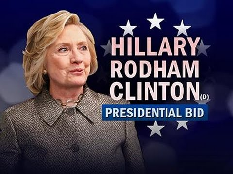 Hillary Clinton Announces 2016 White House Bid