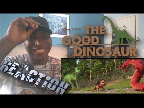 The Good Dinosaur Official Trailer #1 (2015) - Pixar - REACTION!