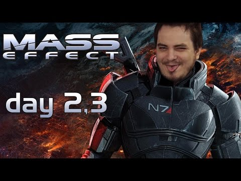 Мэддисон играет в Mass Effect, day 2,3