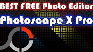 Best FREE RAW Photo Editor - Photoscape X Pro
