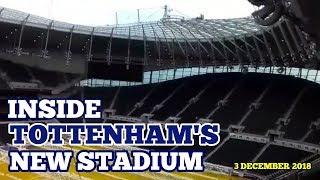 UPDATE AT TOTTENHAM?S NEW STADIUM: Inside The Tottenham Hotspur Stadium: Stadium Bowl and Sky Lounge