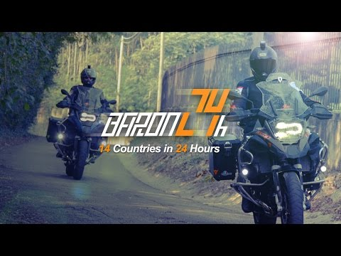 Ride 14 Countries in 24 Hours - Baron 24 EP04