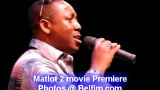 Lionel Richie - Hello - Reginald Calvert  - Matlot 2 Movie Premiere Pt 6