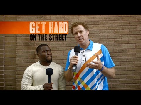 Get Hard - Will Ferrell And Kevin Hart Hit The Streets At SXSW [HD]