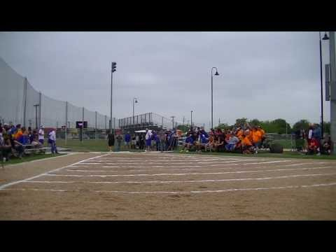 2013 Region 4 2A Shot Put  *Tristan Wendt* thrower from Schulenburg,TX
