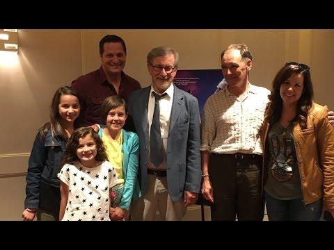 We Met Steven Spielberg at Disney's BFG Screening! (WK 285.6) | Bratayley