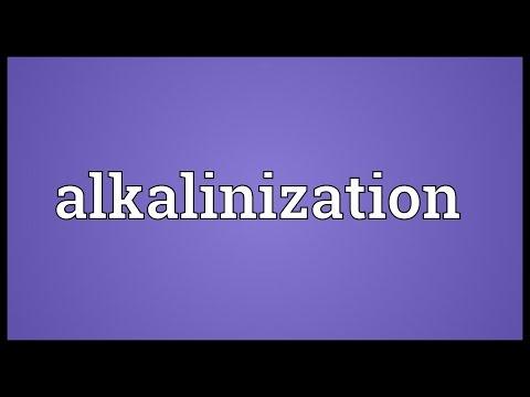 Header of Alkalinization