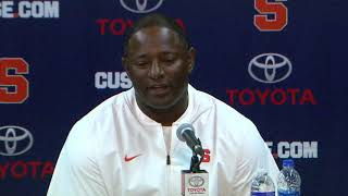 Dino Babers vs Wagner Post Game