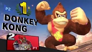 Ganondorf vs Donkey Kong