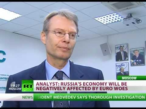 IMF cuts forecast for Russia's growth due to EU debt crisis