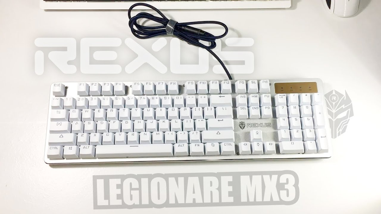 Review Rexus Legionare Mx3 Mechanical Keyboard Murce Murah Kece Gaming Fortress K9tkl