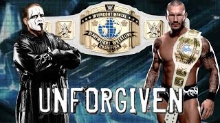 Sting vs Randy Orton for Championship Unforgiven 2016