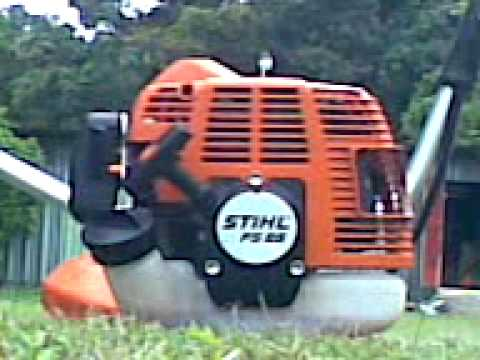 Stihl fs 85 y fs 120 cold start.3gp
