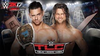 WWE 2K17 TLC 2016 The Miz vs Dolph Ziggler