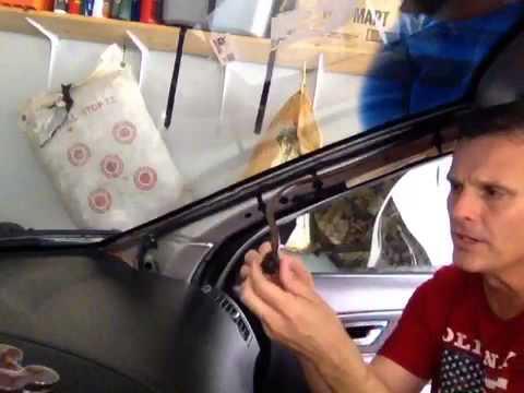 Volvo Xc90 Clean Sunroof Drain Tube Youtube
