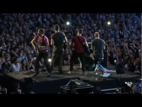 COLDPLAY - Speed of sound (HD) - PARIS STADE DE FRANCE
