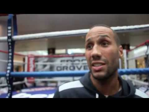'I HOPE CARL FROCH KNOCKS GEORGE GROVES OUT' - SAYS JAMES DeGALE / FROCH v GROVES 2