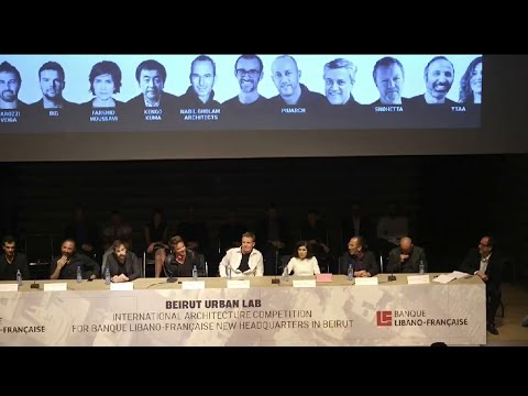 "La vidéo de la conférence de la BLF avec des architectes internationaux ""Beirut Urban Lab - Communities, Transformation and Quality of Life"""