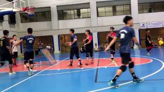 Philippines Tchoukball Open 2017 - Singapore vs Taiwan [1st Period]