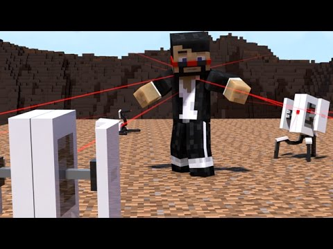 TURRET FAIL (Minecraft Animation)