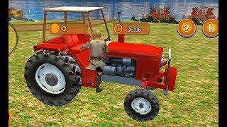 Khakassia Organic Tractor Farming Simulator 2019 #1- Heavy tractor driving game