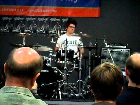 Cobus - LA Music Academy - Tik Tok (LIVE drum cover)