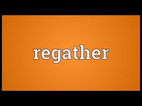 Header of regather