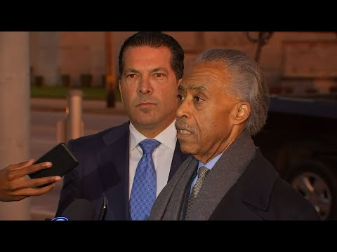 Sharpton Protests Rapper's Imprisonment