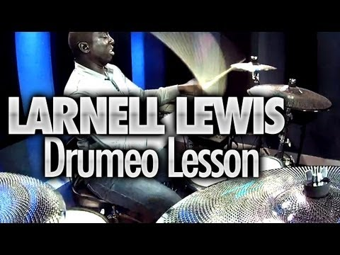 Larnell Lewis Visits Drumeo (Yamaha DTX 950K Drums & Zildjian Gen16 Cymbals)