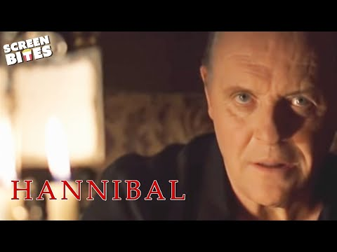 Hannibal: Hannibal Lecter (Anthony Hopkins) writes to Clarice Starling (Julianne Moore)